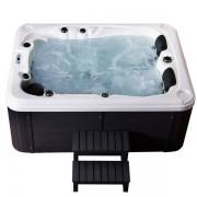 Whirlpool Outdoor Whirlpool Hot Tub Spa Berlin mit 51 Massage Düsen + Heizung + Ozon De...