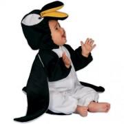 Dress Up America 317-12mo - Costume da Pinguino di Peluche, 12 Mesi 0-12 Mesi, Multicolore