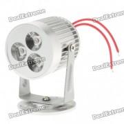 Lampara blanca fria del punto de la luz blanca de 3W 260lm 3-LED 6500K (ac 85 ~ 245V)