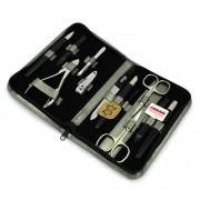 SILVER - tradycyjny 12-częściowy zestaw do manicure, SOLINGEN - C.S.