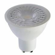 LED lámpa , égő , szpot , GU10 foglalat , 38° , 7 Watt , hideg fehér , Optonica