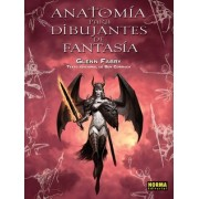 Anatomia para dibujantes de fantasia / Anatomy for Fantasy Artists by Glenn Fabry