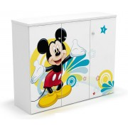 Comoda copii 3 usi Mickey Mouse
