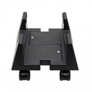 Syba CPU Stand for Heavy PC Chassis ATX Plastic Case Adjustable Width w/ Wheels