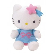 Hello Kitty - Doudou Luminou - Hello Kitty - Peluche Photoluminescente Sans Pile - Se Voit Dans Le Noir !