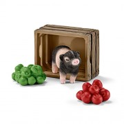 Schleich North America Mini-Pig with Apples