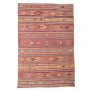 Kelim semiantik Turkisk matta 196x292 Orientalisk Matta