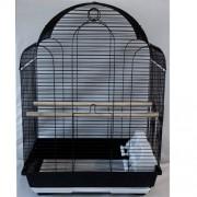 Max 700če Klec černá pro ptáky na papoušky ptáky 420 x 300 x 590 mm