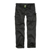 Klasyczne spodnie wojskowe, w kolorze czarnym, US ARMY, SURPLUS.