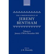 The Collected Works of Jeremy Bentham: Correspondence: Volume 6 by Jeremy Bentham