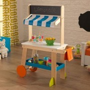 Kid Kraft Sweet And Sunny Lemonade Stand, Play Kitchen Set
