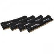 Памет Kingston HyperX Savage 32GB(4x8GB) DDR4 PC4-19200 2400MHz CL12 KIN-RAM-HX424C12SB2K4/32