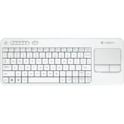 Tastatura Logitech K400 Wireless USB White