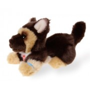 Bauer 17131 - Peluche Pia Pia Club German Shepherd Dog Lying, 17 cm