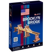 Brooklyn Bridge New York Worlds Great Architecture Series 3D Puzzle NYC Souvenir for Kids Children -