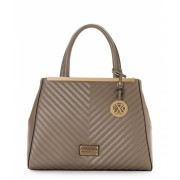 CXL by Christian Lacroix Stone Eva Quilted Tote Stone
