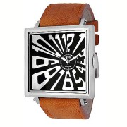 EOS New York MAD HATTER Watch Black/Brown 14S