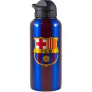 Bidon barcelona blauw/rood aluminium classic: 400 ml