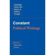 Constant: Political Writings by Benjamin Constant