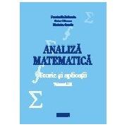 Analiza matematica. Teorie si aplicatii.