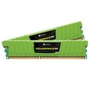 Memorie Corsair Vengeance LP Green 8GB (2x4GB) DDR3 2133MHz CL11 1.5V, Dual Channel Kit, CML8GX3M2A2133C11G