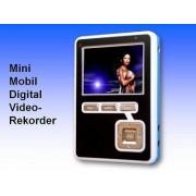 Anykam Mini DVR Videorekorder mit 2,5Zoll, 6,3cm MONITOR mobiler Rekorder