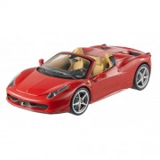 Modellino Auto Ferrari 458 Italia Spider 2011 Red Elite Edition Scala 1:18 Model BCJ89