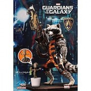 Dragon Models 7 Guardians of The Galaxy - Rocket Raccoon/Action Hero Vignette - Special Version with Little Groot Model Kit (Limited Release)