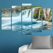 Декоративeн панел за стена с величествен водопад Vivid Home