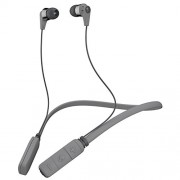 Skullcandy Ink'd Bluetooth Wireless In-Ear Earbuds with Mic (Street Gray/Chrome)