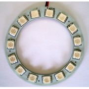 Panou circular led albastru 60 mm