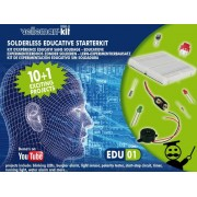 Edukit: kit d'initiation electronique educatif sans soudure
