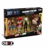 Set 2 figurine, Luffy & Zoro, 12 cm
