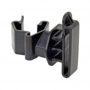 25x T-Post Tape Insulator, Black