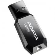 USB flash drive AData DashDrive UV100 Slim 8GB USB 2.0 Black