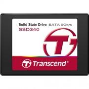 Transcend TS128GSSD340 SSD interno 128GB (6,4 cm (2,5 Pollici), SATA III, MLC) nero