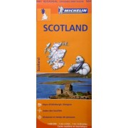 Carte Michelin Ecosse Scotland N°501
