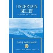 Uncertain Belief by David J. Bartholomew