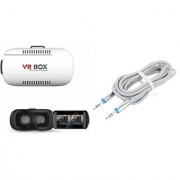 QWERTY VR Box And AUX Cable for SAMSUNG GALAXY NOTE II