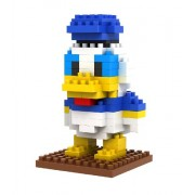 'LOZ Li Chi Lego children's toys Donald Tang Tang style Legos blocks diamond particles mini doll