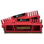Corsair Vengeance Red DDR3 1866MHz 16GB KIT2 (CMZ16GX3M2A1866C10R)