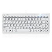 Perixx PERIBOARD-407W Mini Keyboard USB White