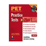 PET Practice Tests Plus 1 with Key and Audio CD Pack