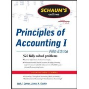 Schaum's Outline of Principles of Accounting I by Joel J. Lerner