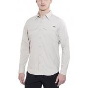 Columbia Silver Ridge Long Sleeve Shirt Men fossil S 2017 Langarm Hemden