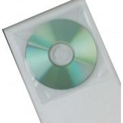 CD Envelope Plastic Pk 50