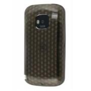 Nokia E5 Diamond TPU Gel Case - Microsoft / Nokia Soft Cover (Dark Grey)