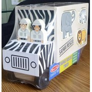 Melissa & Doug Animal Rescue Shape Sorting Truck (Set Of 6)