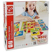 Hape - Home Education - Story Lines Wooden Card Game