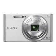 Camera foto compacta Sony Cyber-shot DSC-W830 20.1 Mpx zoom optic 8x Argintiu